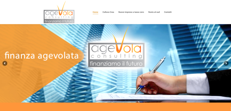 Agevola Consulting Finanza agevolata