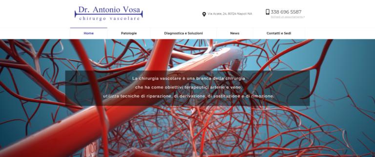 Dr. Antonio Vosa  Chirurgo vascolare